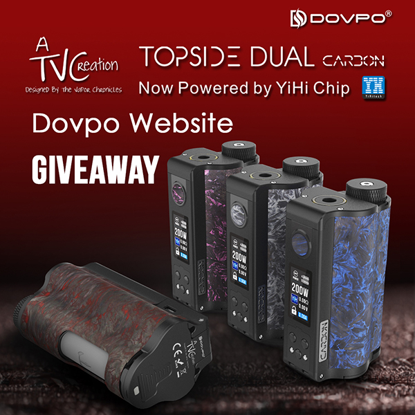 Dovpo Topside Dual Carbon Giveaway