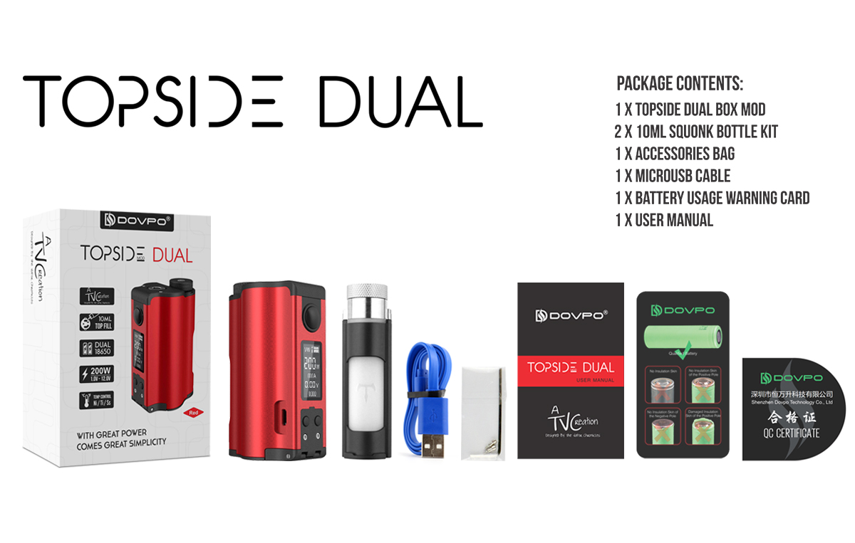 Topside Dual Package Contents